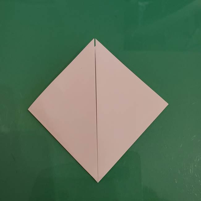 プリキュアくるるん 折り紙の折り方作り方【トロピカルージュ】②顔(5)