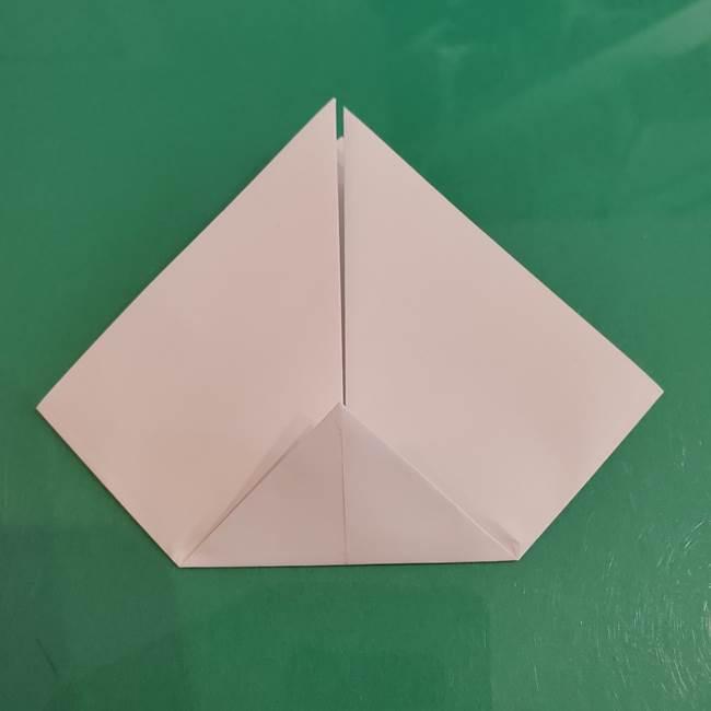 プリキュアくるるん 折り紙の折り方作り方【トロピカルージュ】②顔(6)