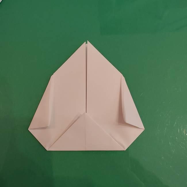 プリキュアくるるん 折り紙の折り方作り方【トロピカルージュ】②顔(7)