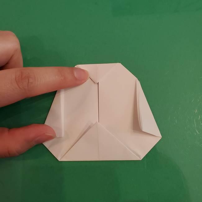 プリキュアくるるん 折り紙の折り方作り方【トロピカルージュ】②顔(8)