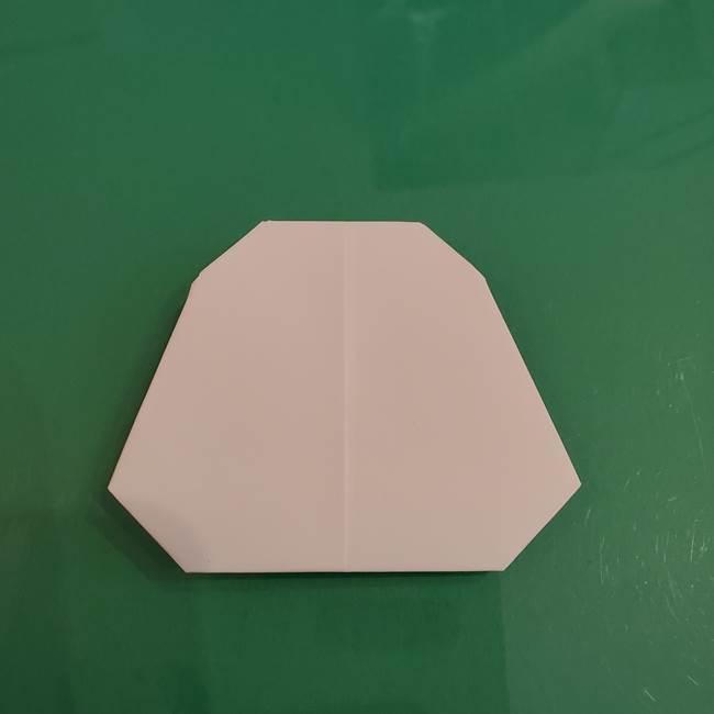 プリキュアくるるん 折り紙の折り方作り方【トロピカルージュ】②顔(9)