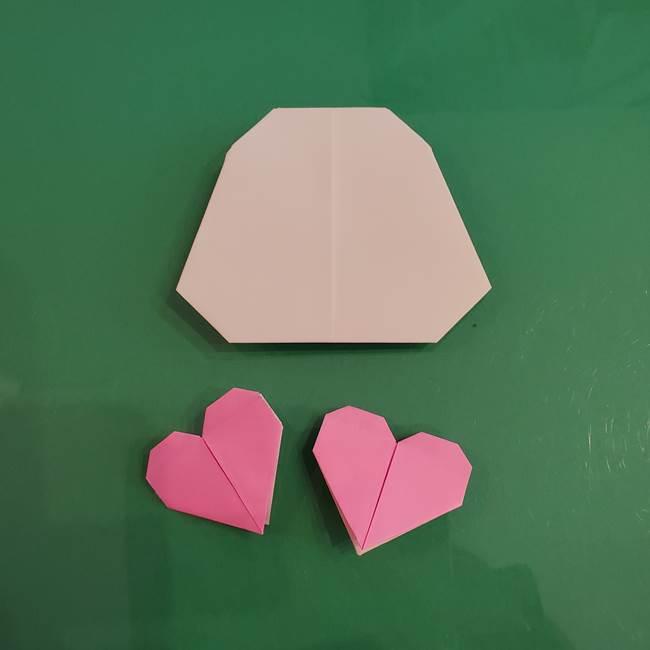 プリキュアくるるん 折り紙の折り方作り方【トロピカルージュ】③完成(1)