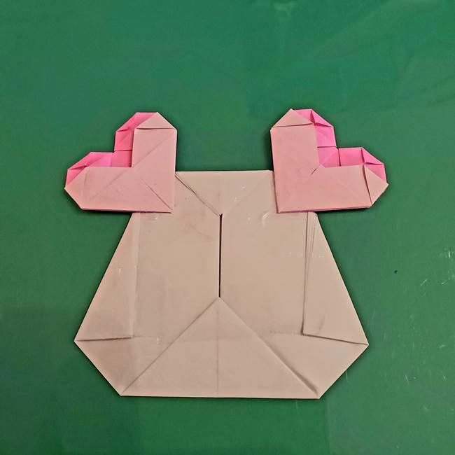 プリキュアくるるん 折り紙の折り方作り方【トロピカルージュ】③完成(3)