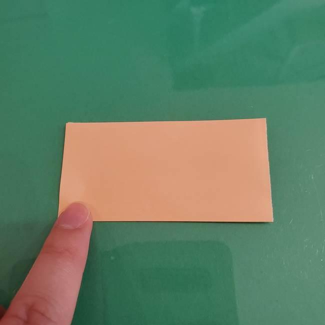 プリキュアのローラ 折り紙の折り方作り方【トロピカルージュ キュアラメール】①顔(2)