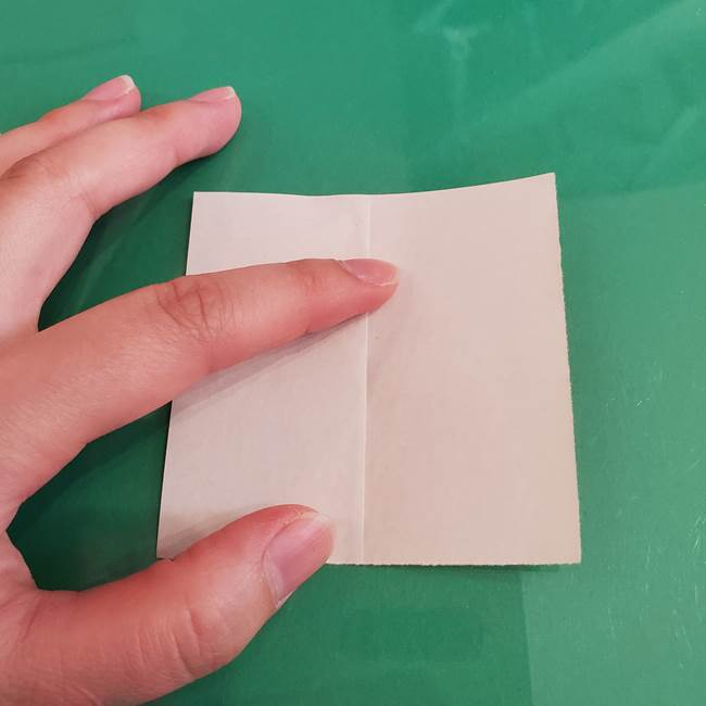 プリキュアのローラ 折り紙の折り方作り方【トロピカルージュ キュアラメール】①顔(3)