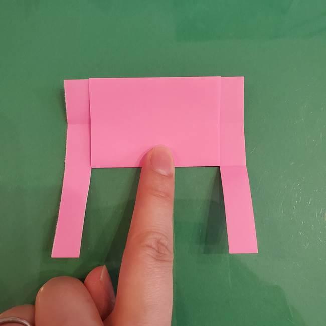 プリキュアのローラ 折り紙の折り方作り方【トロピカルージュ キュアラメール】②前髪(11)