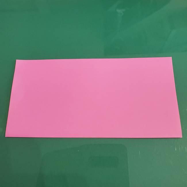 プリキュアのローラ 折り紙の折り方作り方【トロピカルージュ キュアラメール】②前髪(2)