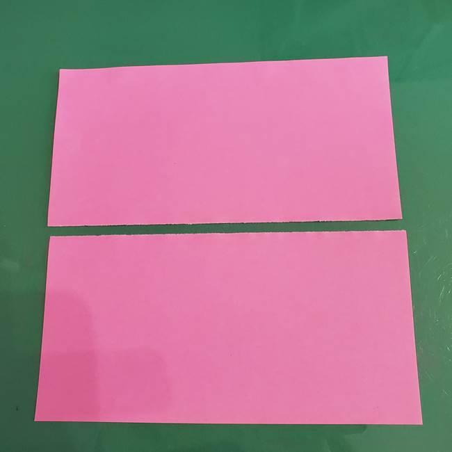 プリキュアのローラ 折り紙の折り方作り方【トロピカルージュ キュアラメール】②前髪(3)