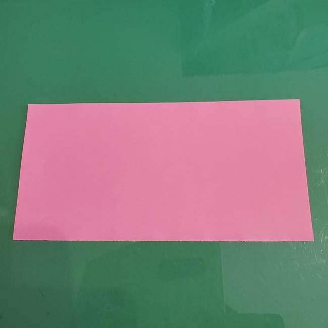 プリキュアのローラ 折り紙の折り方作り方【トロピカルージュ キュアラメール】②前髪(4)