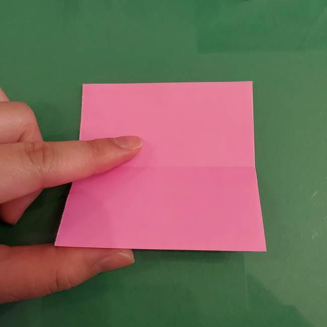 プリキュアのローラ 折り紙の折り方作り方【トロピカルージュ キュアラメール】②前髪(7)