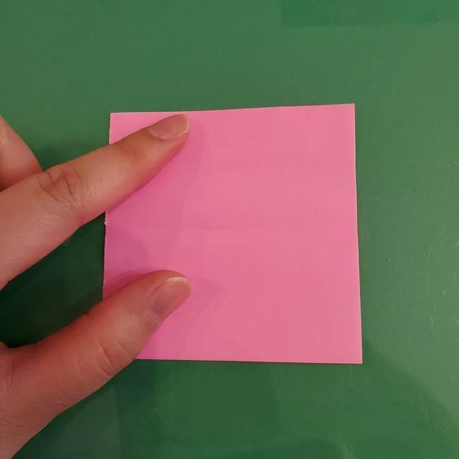プリキュアのローラ 折り紙の折り方作り方【トロピカルージュ キュアラメール】②前髪(9)