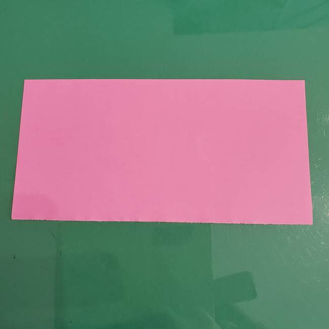 プリキュアのローラ 折り紙の折り方作り方【トロピカルージュ キュアラメール】③後ろ髪(1)