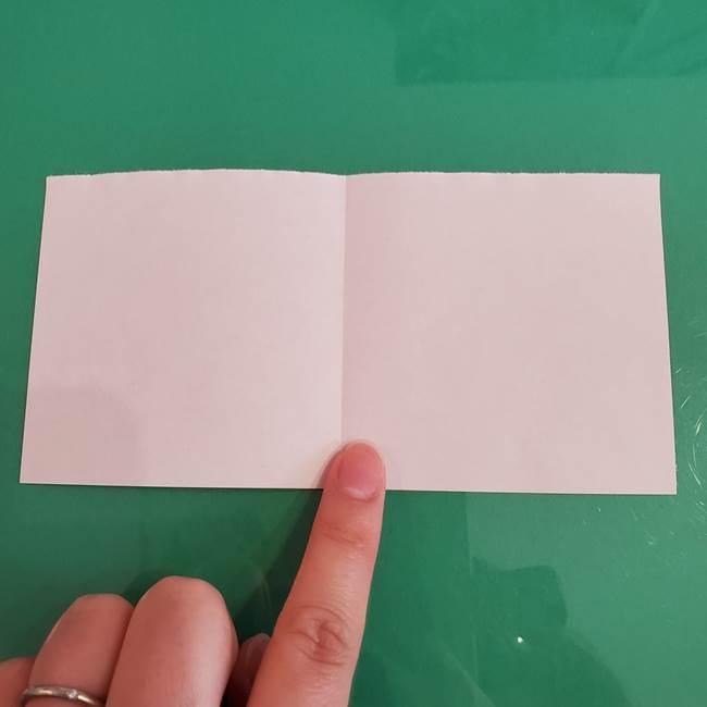 プリキュアのローラ 折り紙の折り方作り方【トロピカルージュ キュアラメール】③後ろ髪(3)