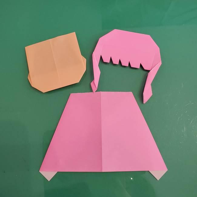 プリキュアのローラ 折り紙の折り方作り方【トロピカルージュ キュアラメール】④完成(1)