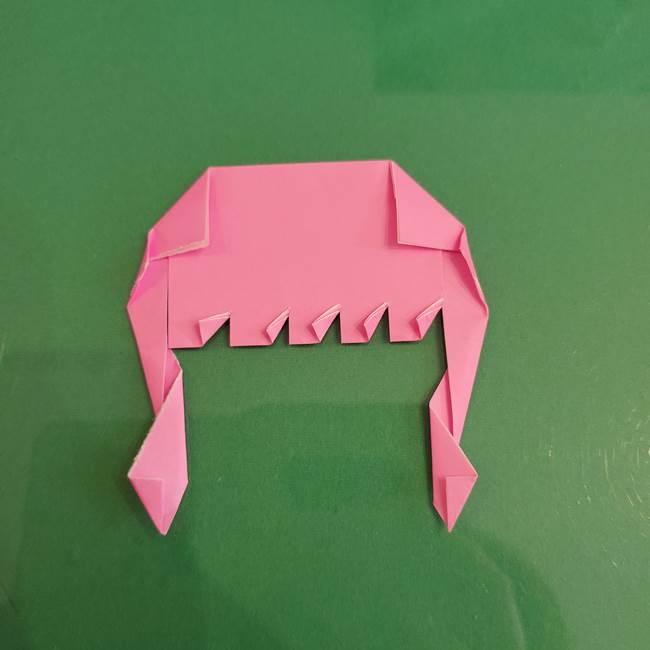 プリキュアのローラ 折り紙の折り方作り方【トロピカルージュ キュアラメール】④完成(2)