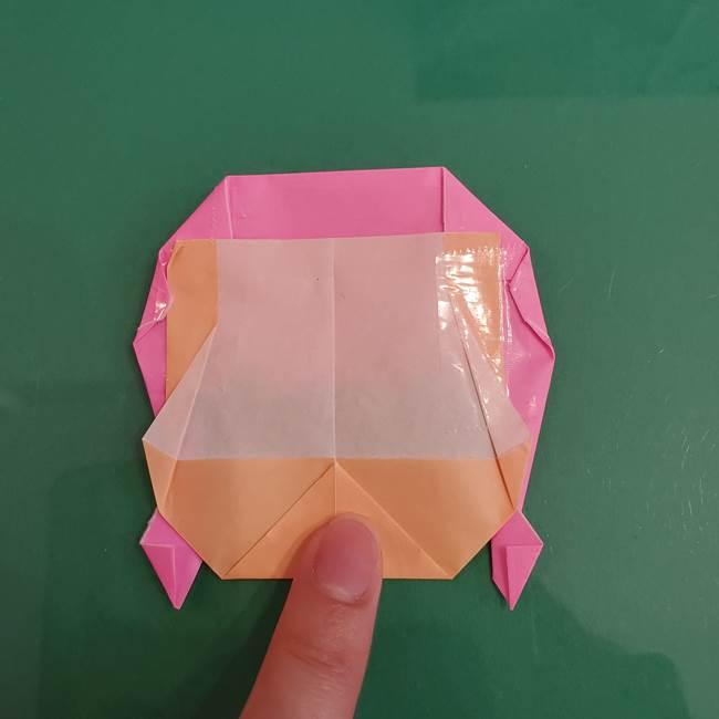 プリキュアのローラ 折り紙の折り方作り方【トロピカルージュ キュアラメール】④完成(3)