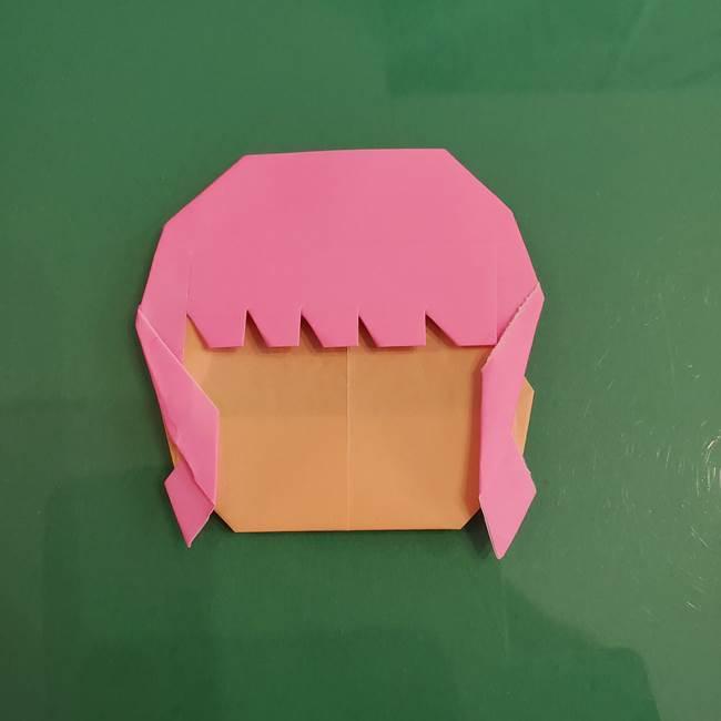 プリキュアのローラ 折り紙の折り方作り方【トロピカルージュ キュアラメール】④完成(4)