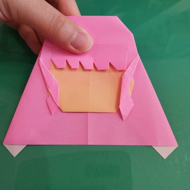 プリキュアのローラ 折り紙の折り方作り方【トロピカルージュ キュアラメール】④完成(5)