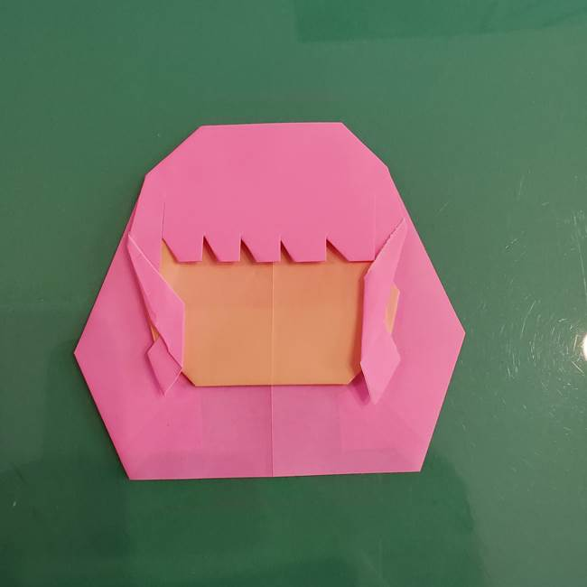 プリキュアのローラ 折り紙の折り方作り方【トロピカルージュ キュアラメール】④完成(9)