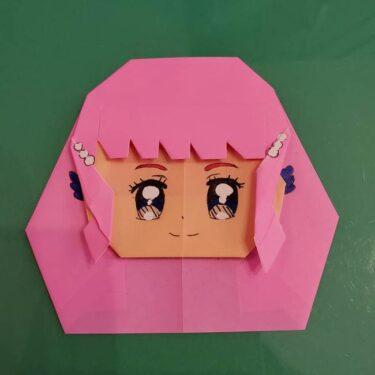 プリキュア ローラの折り紙★トロピカルージュ キュアラメール★折り方作り方