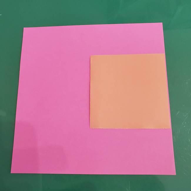 プリキュア ローラの折り紙*用意するもの1