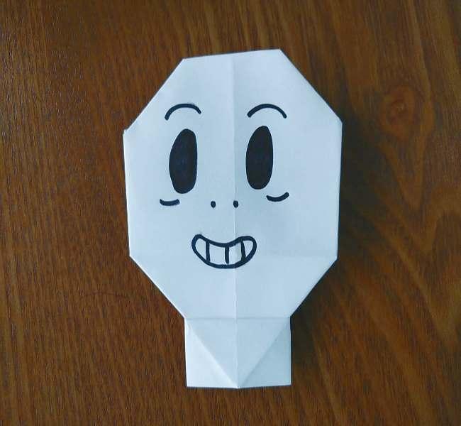 ホラーマンの折り紙の折り方作り方 (10)