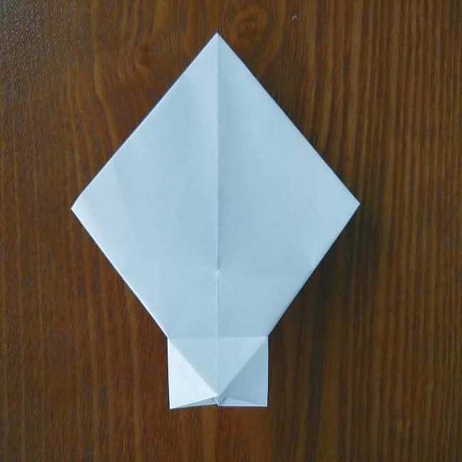 ホラーマンの折り紙の折り方作り方 (8)