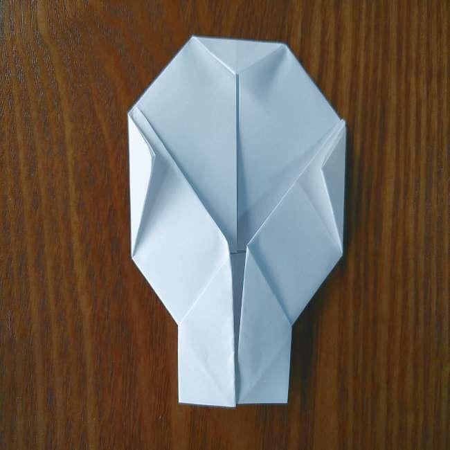 ホラーマンの折り紙の折り方作り方 (9)