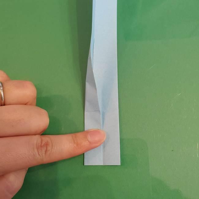 マイクラの折り紙①剣の折り方(11)