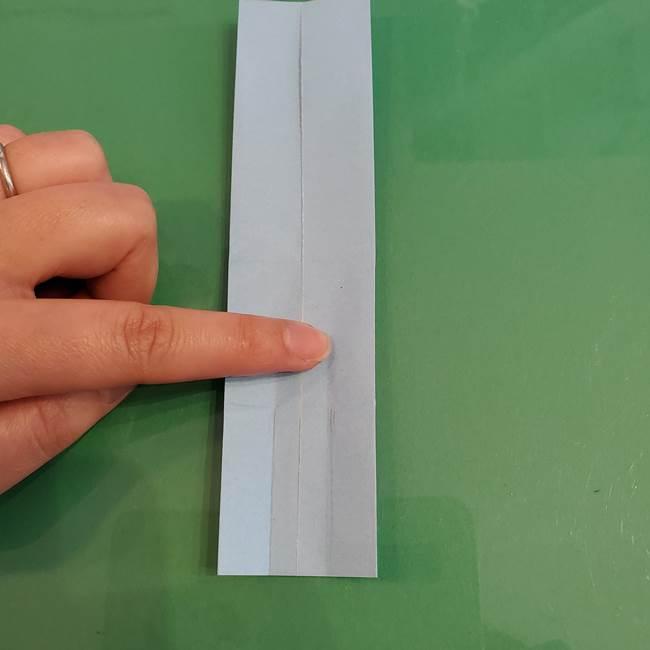マイクラの折り紙①剣の折り方(12)