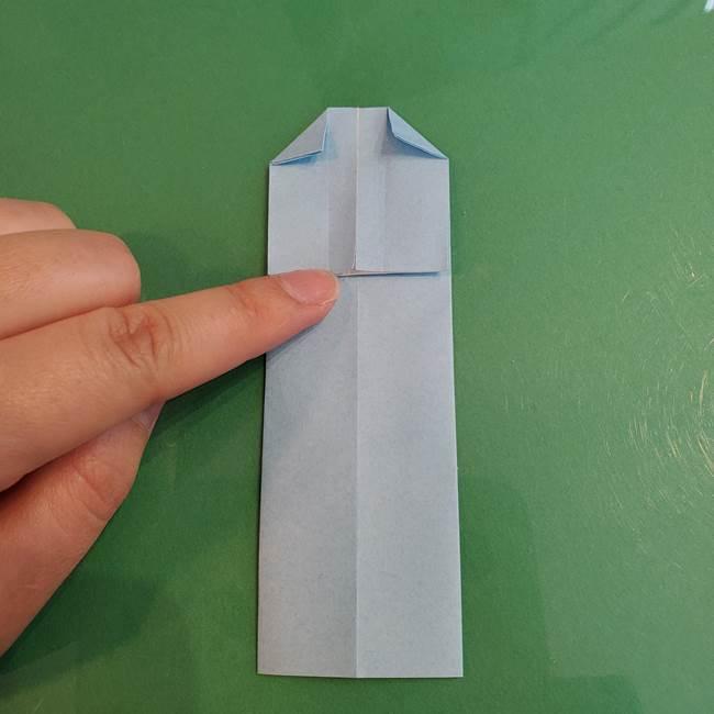 マイクラの折り紙①剣の折り方(14)
