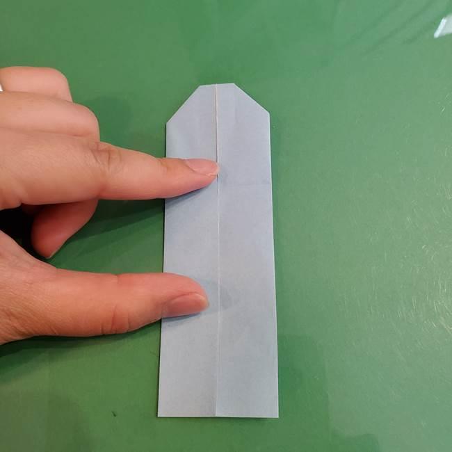 マイクラの折り紙①剣の折り方(15)
