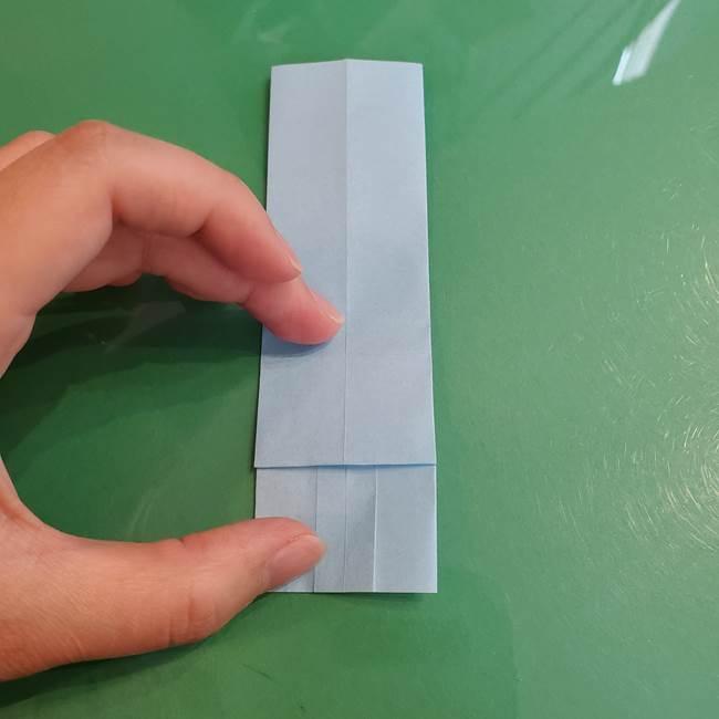 マイクラの折り紙①剣の折り方(17)