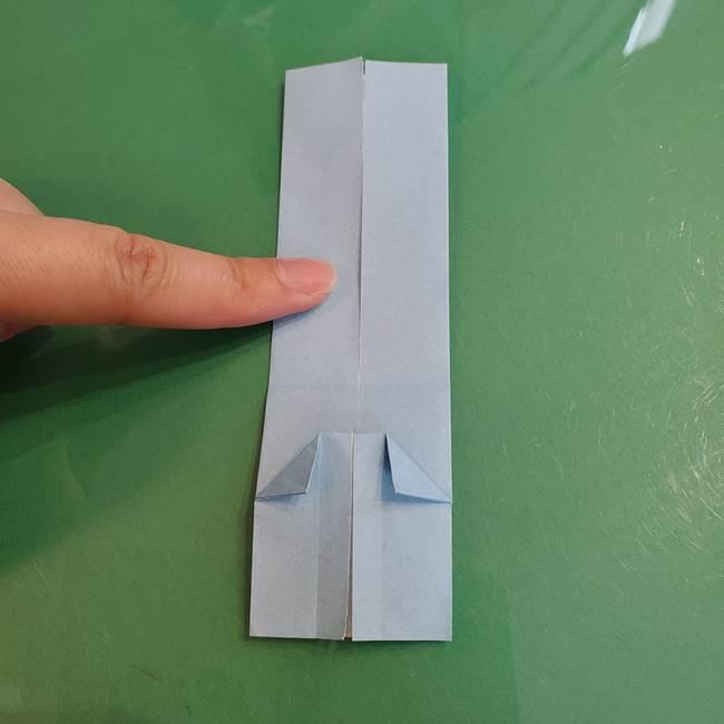 マイクラの折り紙①剣の折り方(18)