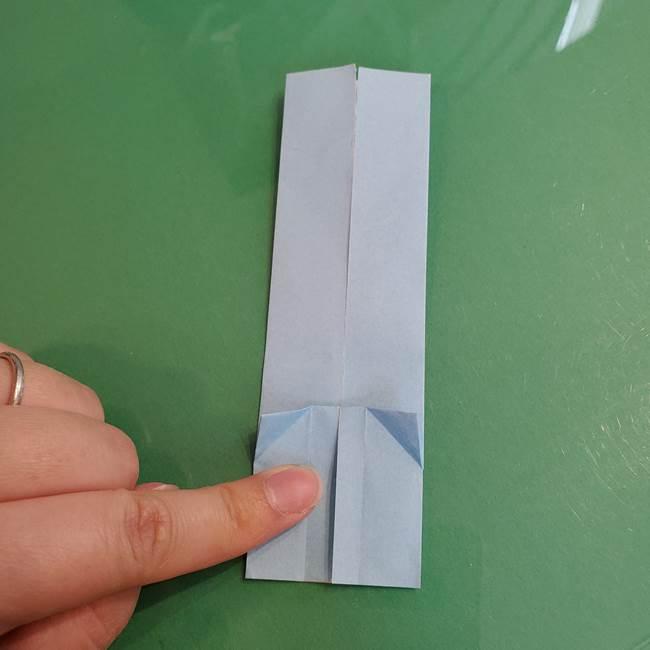 マイクラの折り紙①剣の折り方(19)