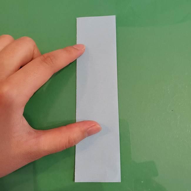 マイクラの折り紙①剣の折り方(2)
