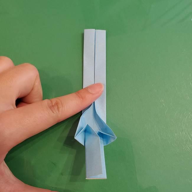 マイクラの折り紙①剣の折り方(23)