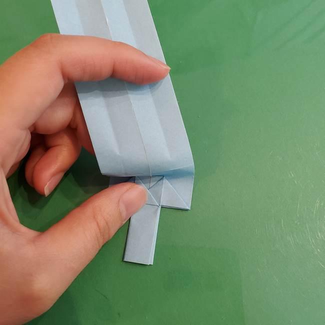 マイクラの折り紙①剣の折り方(25)