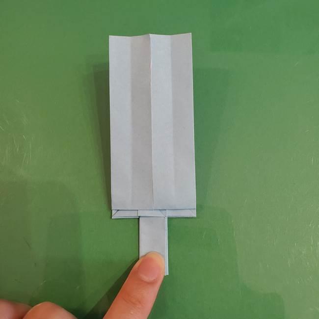 マイクラの折り紙①剣の折り方(28)