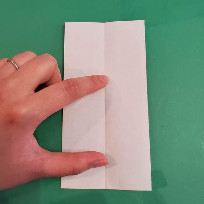 マイクラの折り紙①剣の折り方(3)