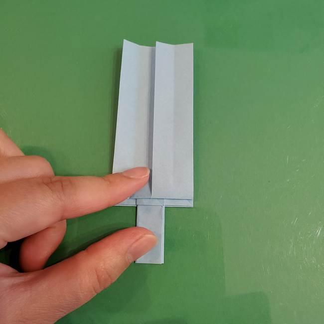 マイクラの折り紙①剣の折り方(31)