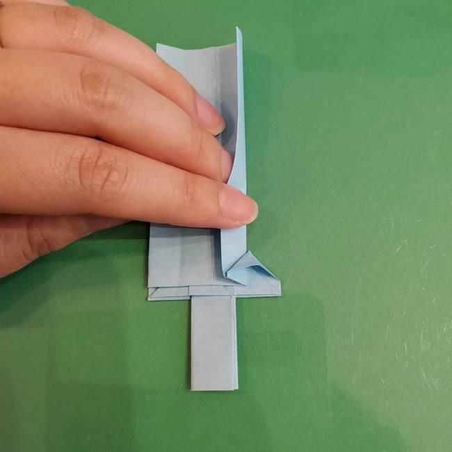 マイクラの折り紙①剣の折り方(32)
