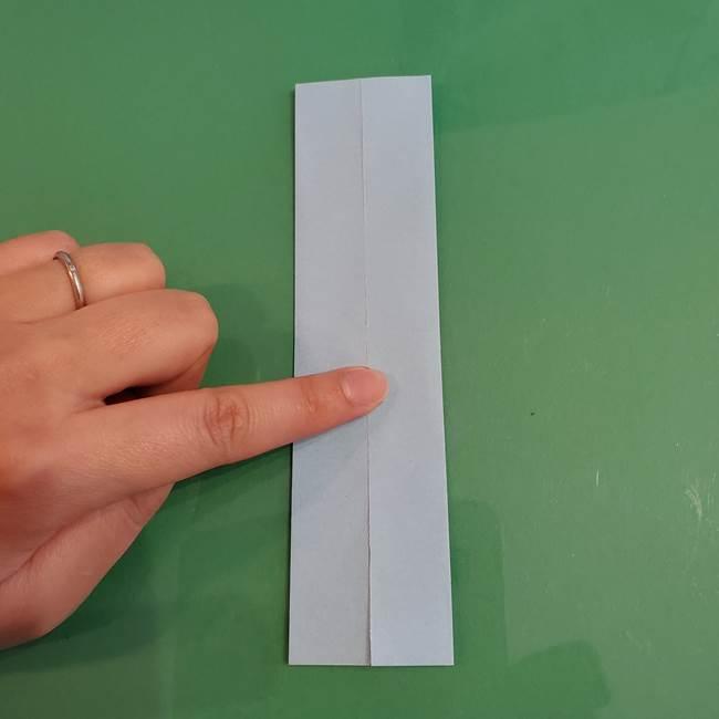 マイクラの折り紙①剣の折り方(4)