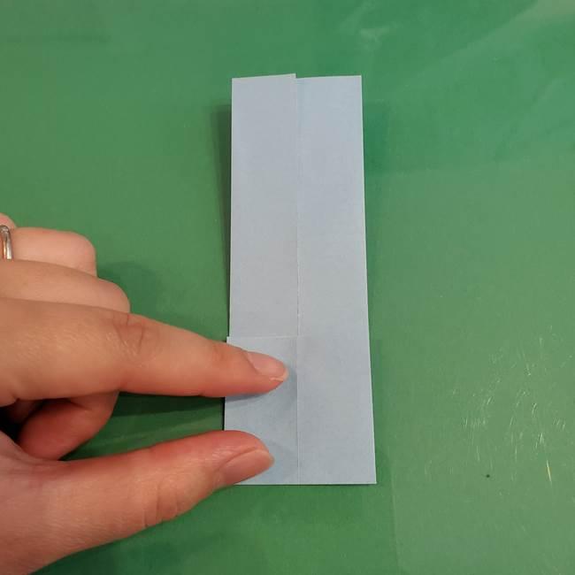 マイクラの折り紙①剣の折り方(7)
