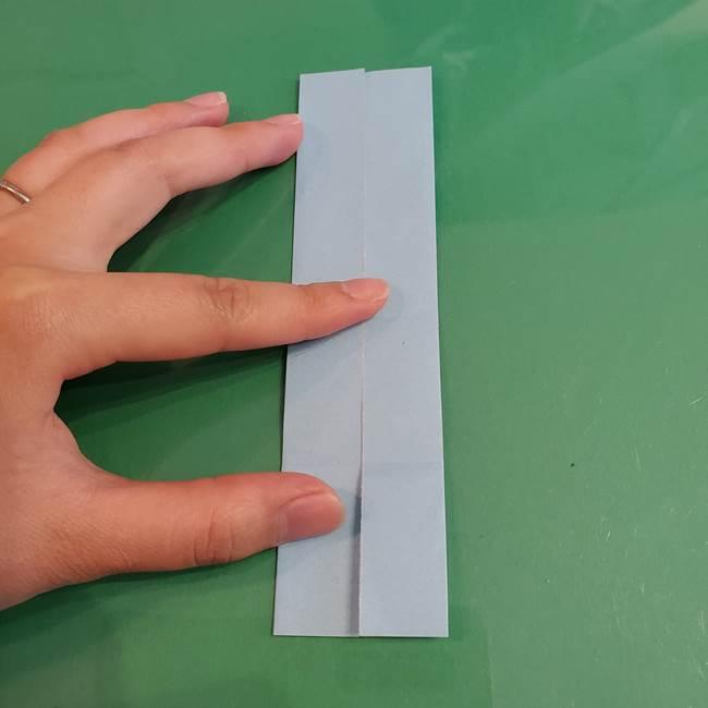 マイクラの折り紙①剣の折り方(8)