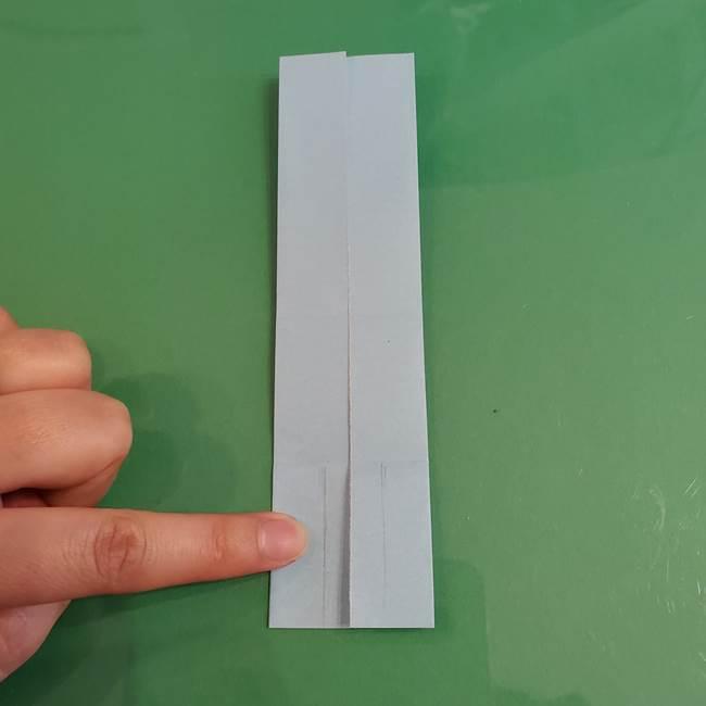 マイクラの折り紙①剣の折り方(9)