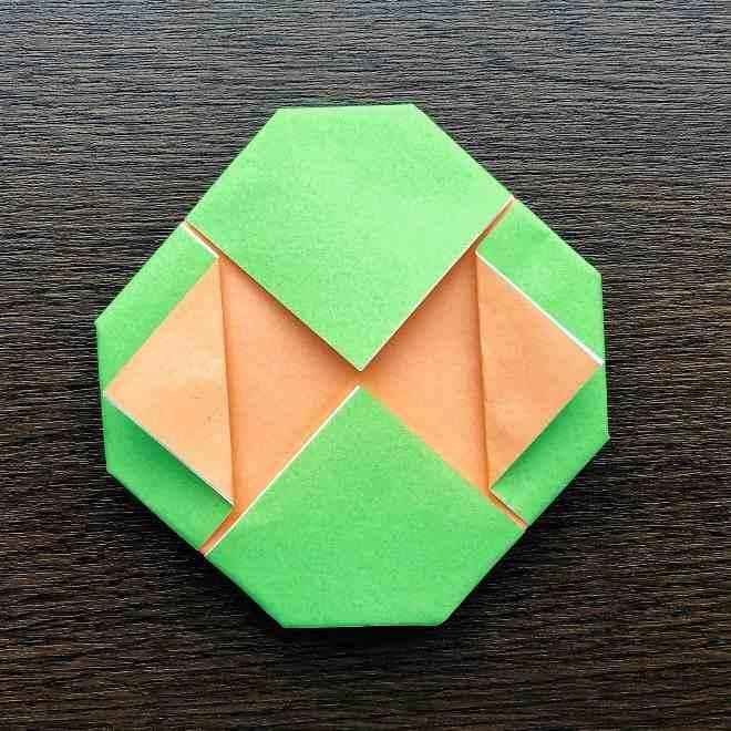 メロンパンナちゃんの折り方作り方|折り紙 (10)