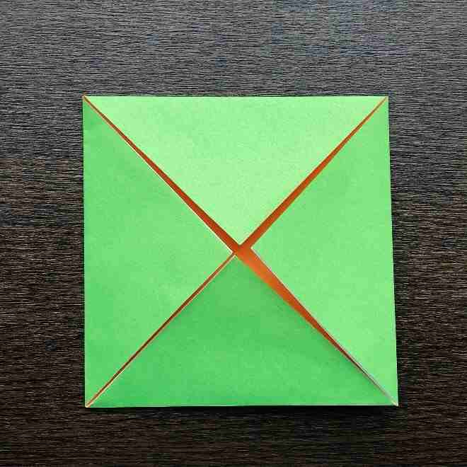 メロンパンナちゃんの折り方作り方|折り紙 (5)