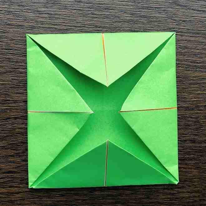メロンパンナちゃんの折り方作り方|折り紙 (7)