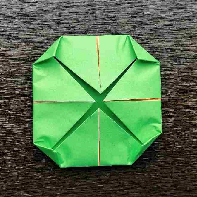 メロンパンナちゃんの折り方作り方|折り紙 (8)